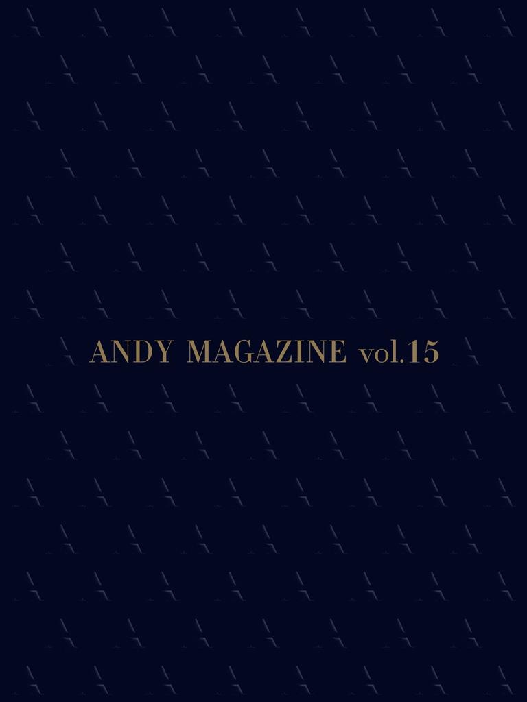 ANDY MAGAZINE 15