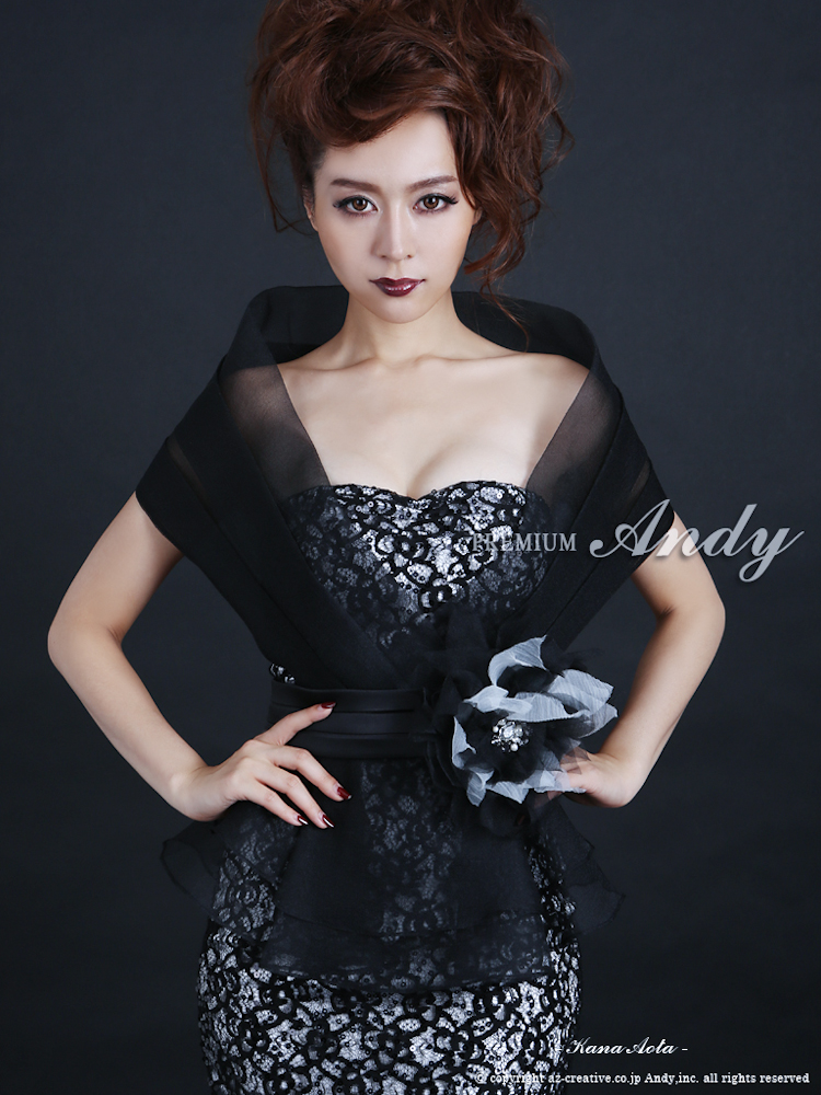 AN-OK828 |  black-blacklace