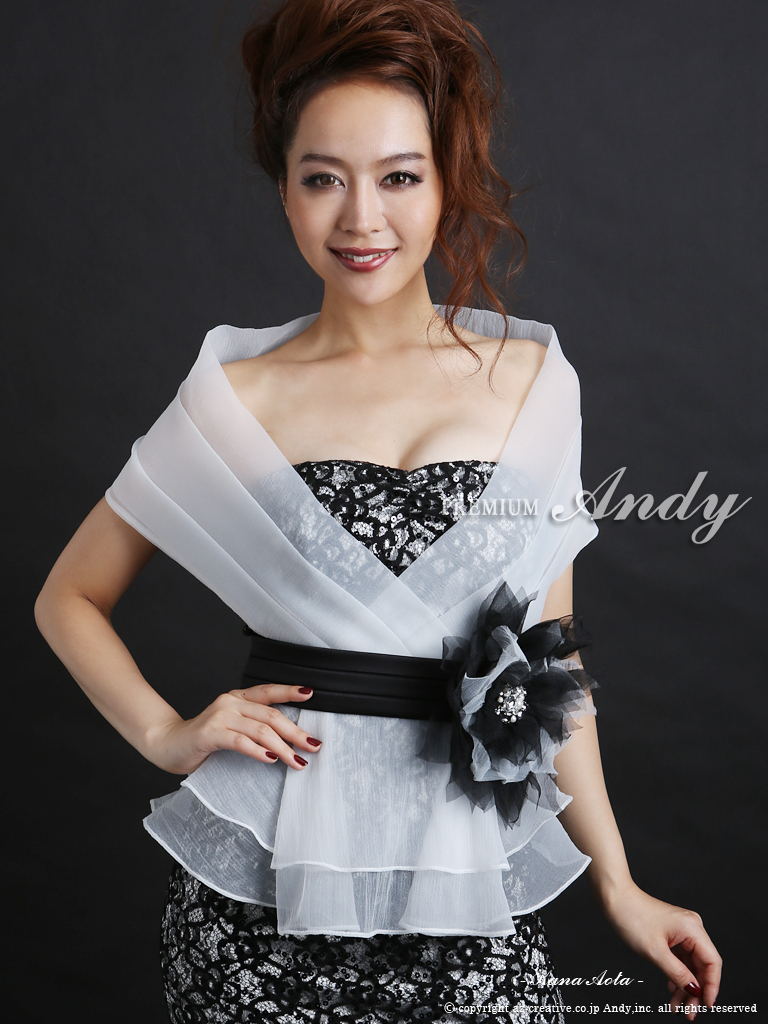 AN-OK828 |  white-blacklace